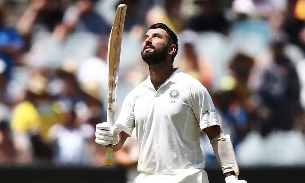 cheteshwar pujara hundreds vs australia sydney test