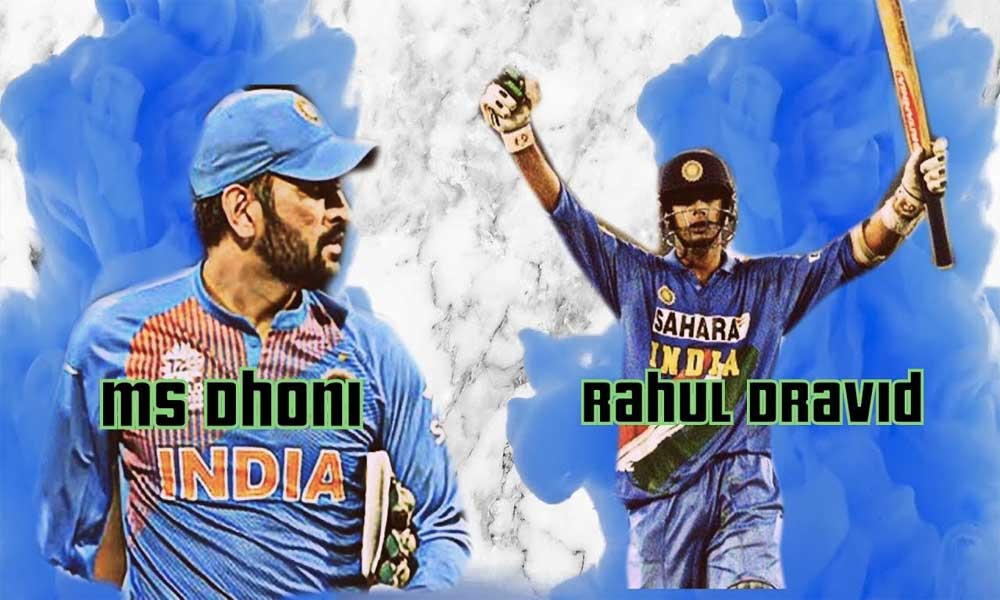who is best cricketer between rahul Dravid and Mahendra singh Dhoni