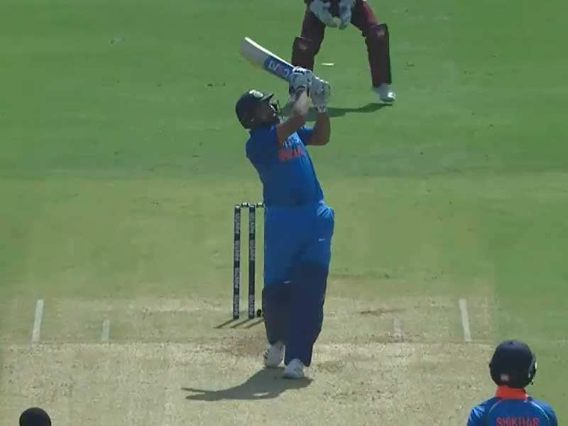 rohit-sharma-longest-six-in-ind-vs-wi-4th-day