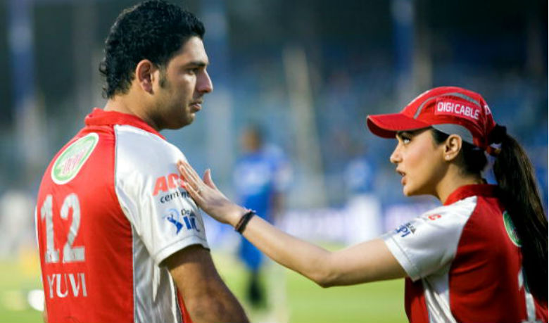 Yuvraj Singh wife Reaction